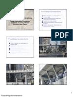Truss Design Considerations-Slides