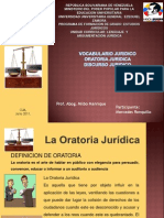 Presentación  ORATORIA
