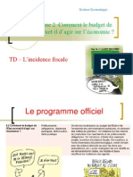TD - L'Incidence Fiscale