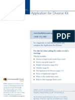 Divorce Kit 011110V1