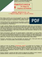 DEBATES METAFÍSICOS (X) O TRADICIONALISMO E JULIUS EVOLA
