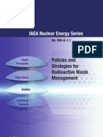 Policy and Strategy for Radioactive Waste Management