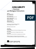 BIOAVAILABILITY Physical, Chemical, And Biological Interactions