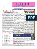 ASTROAMERICA NEWSLETTER MAY 21, 2013