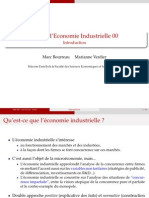 Introduction a l'économie industrielle
