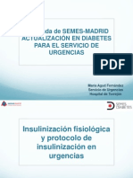 Presentación protocolo insulinización