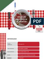 Obiceiurile Alimentare Ale Romanilor 2013