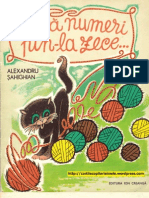 DACA NUMERI PAN-LA ZECE - Alexandru Sahighian (Ilustratii de Raisa Isneazova, 1981)