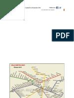 Latest Map of Delhi Metro Upmdhdvhbxnmdated on 26 September 2011
