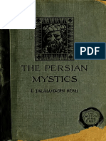The Persian Mystics, I. Jalalu'D-Din Rumi ; Frederick H Davis, 1920