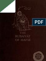 The Rubaiyat of Hafiz, English Trans. 1915