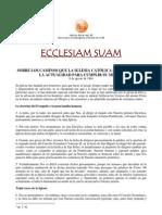 Pablo VI - Ecclesiam Suam
