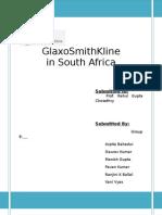GlaxoSmithKline in South Africa