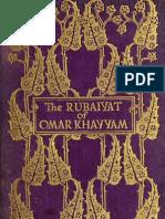 Rubáiyát of Omar Khayyám, English Trans Edward FitzGerald 1901