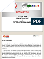 3.- Caracteristicas de Explosivos