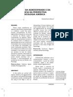 Aspectos da agressividade e da violência na perspectiva da psicologia juridica