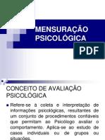 MENSURAÇÃO PSICOLÓGICA