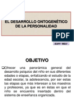 Desarrollo ontogenétic de la personalidad