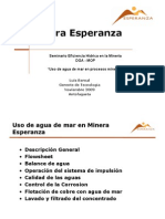 Minera Esperanza Planta