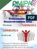 Desenvolvimento Ministerial Liderança