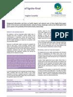 Heal Background Paper Lignite Health Brandenburg English