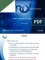 SLAM Techniques and Algorithms