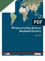 1st PRI Quarterly Policy Briefs