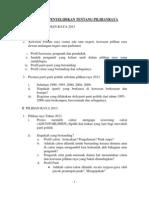 011 Penyelidikan Pilihan Raya 2012-13