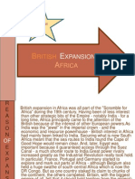 British Expansion in africa