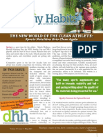 May 2013 - Developing Healthy Habits