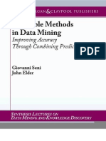 Ensemble Methods in Data Mining