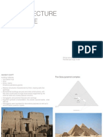 Architecture Theories of the world