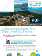 EN - Case study Expertise in Mining Industry (New Caledonia) - Degrémont Industry