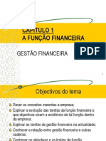 Tema I.  A Função Financeira