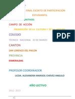 INFORME FINAL ESCRITO DE PARTICIPACIÓN