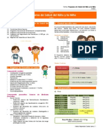 Programa salud niño