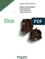 Catalog Metering Transformers