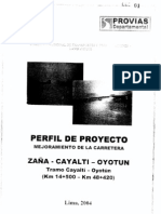 PERFIL DEL PROYECTO CARRETERA ZAÑA-CAYALTI-OYOTUN.LAMBAYEQUE