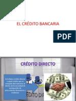 EL CRÉDITO BANCARIA (1)