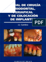 Manual de Cirugía Periodontal, Periapical y de Colocación de Implantes