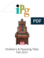 Fall 2013 IPG Children's and Parenting Titles