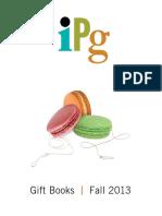 Fall 2013 IPG Gift Books Catalog
