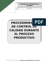 Procedimiento Contro Calidad Durante El Proceso Productivo