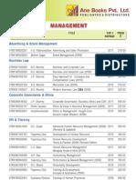 Price List document