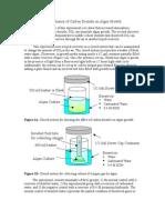Affect of Carbon Dioxide on Algae Growth 2
