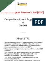 STFC Campus Recruitment
