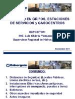 Seguridad en Grifos, Estaciones de Servicios y Gasocentros
