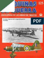 Maquinas de Guerra 125 - Aviones Ligeros de La 2 Guerra Mundial