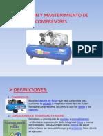 Operacion y Mantenimiento de Compresores