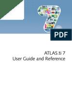 Atlasti v7 Manual